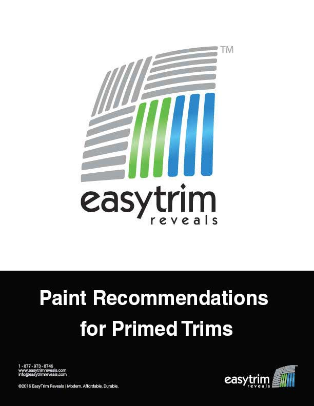 Icon for Paint Recommendations for Primed Trims